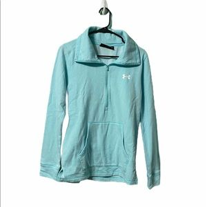 Under Armour Loose Fit Quarter Zip Pullover Small